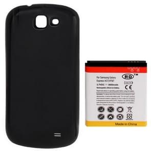 3800mAh Replacement Mobile Phone Battery & Cover Back Door for Galaxy Express / i437(Black)
