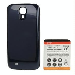 6200mAh vervangende mobiele telefoon batterijklepje & achterdeur voor Galaxy S IV / i9500(Dark Blue)