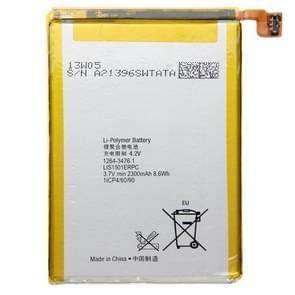 2300mAh oplaadbare Li-Polymer batterij voor Sony Xperia X / LT35