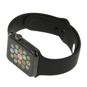 Hoge kwaliteit kleur scherm niet-werkende Fake Dummy  Plastic materiaal Display Model voor de Apple Watch 42mm(Black)