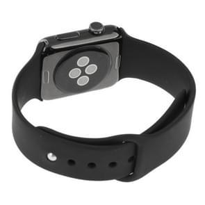 Hoge kwaliteit kleur scherm niet-werkende Fake Dummy  metalen materiële Display Model voor de Apple Watch 38mm(Black)