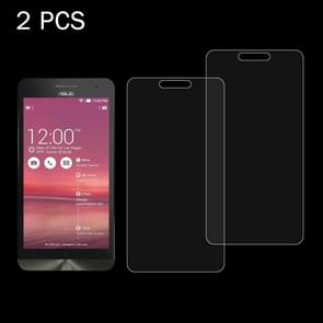 2 PCS for ASUS ZenFone 6 0.26mm 9H Surface Hardness 2.5D Explosion-proof Tempered Glass Screen Film