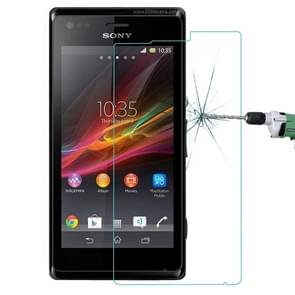 For Sony Xperia M 0.26mm 9H+ Surface Hardness 2.5D Explosion-proof Tempered Glass Film