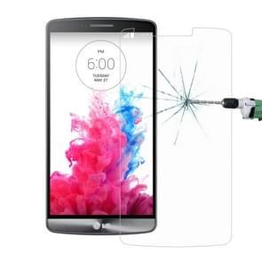 Voor LG G3 / D850 / D855 0 26 mm 9H oppervlaktehardheid 2.5D explosieveilige getemperd glas scherm Film