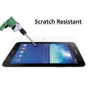 0.4mm 9H+ Surface Hardness 2.5D Explosion-proof Tempered Glass Film for Galaxy Tab 3 Lite T110 / T111 / T113