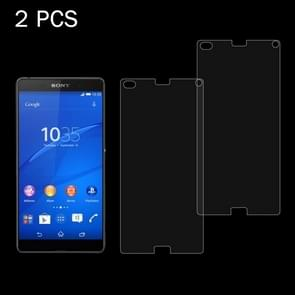2 PCS for Sony Xperia Z4 Mini / Compact 0.26mm 9H Surface Hardness 2.5D Explosion-proof Tempered Glass Screen Film