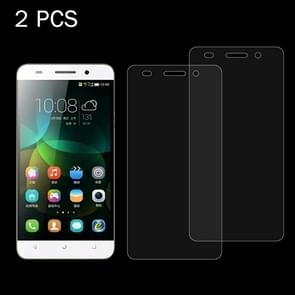 2 PCS for  Huawei Honor 4C 0.26mm 9H Surface Hardness 2.5D Explosion-proof Tempered Glass Screen Film
