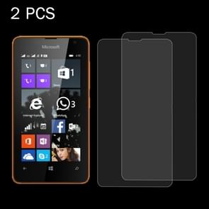 2PCS for Microsoft Lumia 430 0.26mm 9H+ Surface Hardness 2.5D Explosion-proof Tempered Glass Film