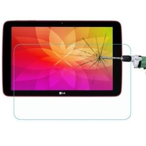 0.4mm 9H+ Surface Hardness 2.5D Explosion-proof Tempered Glass Film for LG G Tablet 10.1 / V700