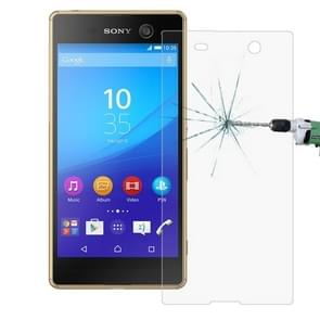 For Sony Xperia M5 0.26mm 9H+ Surface Hardness Explosion-proof Tempered Glass Film Screen Cover