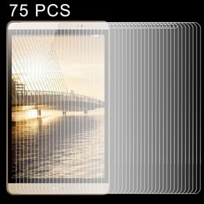 75 PCS 0.4mm 9H Surface Hardness Explosion-proof Tempered Glass Film for Huawei MediaPad M2 8.0