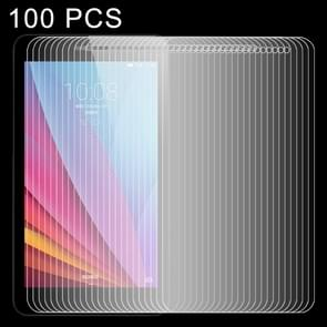 100 PCS 0.4mm 9H+ Surface Hardness 2.5D Explosion-proof Tempered Glass Film for Huawei Honor Play MediaPad T1 / T1-701U