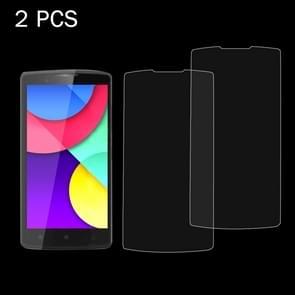 2 PC's Lenovo A2010 0 26 mm 9H oppervlaktehardheid 2.5D explosieveilige gehard glas scherm Film