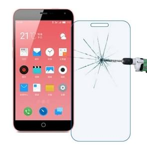 0.30mm 9H+ Surface Hardness 2.5D Explosion-proof Anti Blue-ray Tempered Glass Film for Meizu M1 Note