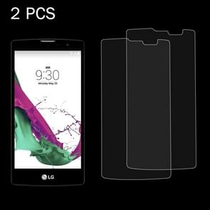2 PCS for LG G4c / H525N / G4 mini 0.26mm 9H Surface Hardness 2.5D Explosion-proof Tempered Glass Screen Film