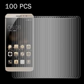 100 PCS for  Coolpad Fengshang Max A8-930 0.26mm 9H Surface Hardness 2.5D Explosion-proof Tempered Glass Screen Film