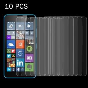 10 PCS for Microsoft Lumia 640 0.26mm 9H Surface Hardness 2.5D Explosion-proof Tempered Glass Screen Film