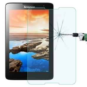 0.4mm 9H+ Surface Hardness 2.5D Explosion-proof Tempered Glass Film for Lenovo A3500 / A7-50