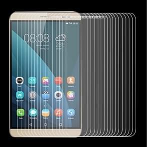 100 stuks voor Huawei MediaPad X 2 0.4 mm 9 H + oppervlaktehardheid 2.5D Explosieveilig gehard glas-Film