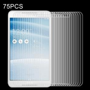 75 PCS for ASUS Fonepad 8 / FE380CG 0.4mm 9H+ Surface Hardness 2.5D Explosion-proof Tempered Glass Film
