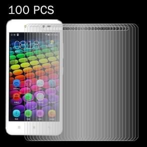 100 stuks Lenovo S90 / Z2 0 26 mm 9H oppervlaktehardheid 2.5D explosieveilige getemperd glas scherm Film