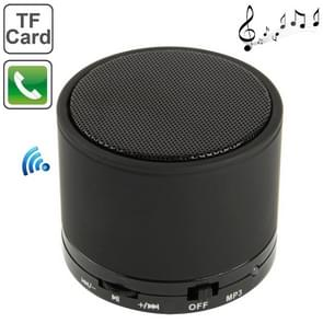 S10 Mini Bluetooth Speaker, Built-in Rechargeable Battery, Support Handsfree Call(Black)