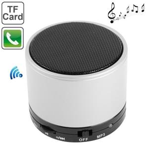 S10 Mini Bluetooth Speaker, Built-in Rechargeable Battery, Support Handsfree Call(Silver)