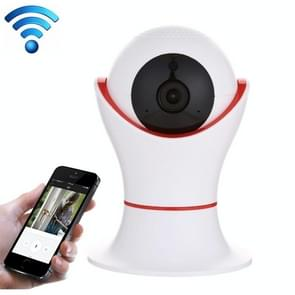PT309 1080P HD WiFi Indoor Home Security Surveillance IP Dome Camera, Support Night Vision and Motion Detection(Red)