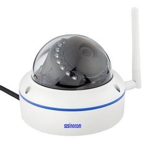 szsinocam SN-IPC-8002A H.264 HD 720P 1.0 Mega Pixel Infrared Night Vision Dome IP Camera, IR Distance: 20m