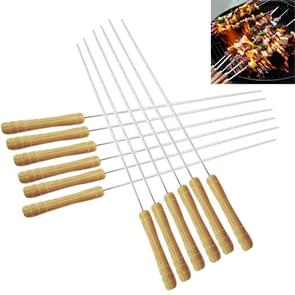 12 PCS Outdoor Camping Barbecue Needles, Lengte: 30cm