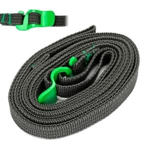 Outdoor Quick Untie Strapping Tape Rope / Backpack Packing Tape(Green)