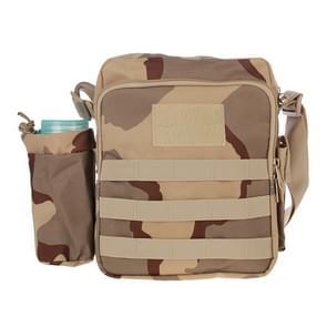 Militaire waterdichte hoge dichtheid de zak van de schouder van de stof van de sterke Nylon met waterkoker tas (Camouflage)