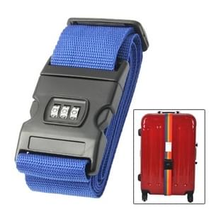 Luggage Strap Cross Belt Adjustable Packing Band Belt Strap with Password Lock for Luggage Travel Suitcase(Colour)