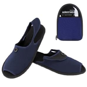 Outdoor Folding draagbare Slippers, Afmeting: L(blauw)