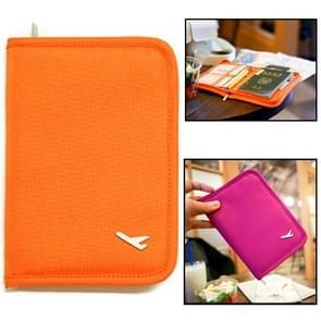 Multifunctionele paspoort tas / opslag pakket tas voor Travel(Orange)