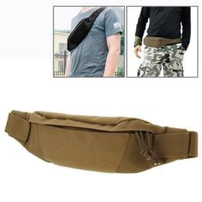 Multifunctionele Outdoor sporten met taille Pack voor mannen als Fanny Pack buiktas Hip geld Belt(Brown)