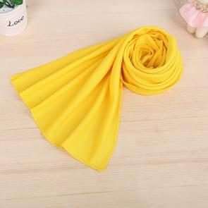 10 PCS Outdoor Sports Protable Cold Feeling Prevent Heatstroke Ice Towel, Size: 30*80cm(Yellow)