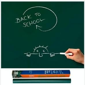 Self-adhesive PVC Matte Blackboard Wallpaper / Graffiti Board Blackboard Wallpaper Wall Sticker(Green)