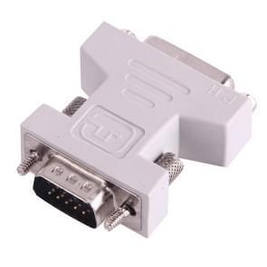 DVI 24+1 Pin vrouwtje naar VGA 15Pin mannetje adapter