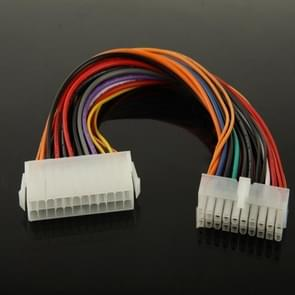 20 Pin Female to 24 Pin Male Adapter Power Extension Cable
