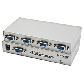 4 Port 150MHz VGA Splitter (1 VGA Input, 4 VGA Output)