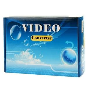 HDV-339 Full HD HDMI naar DVI + Digitaal Coaxiaal / Analoog Stereo Audio Converter Adapter(zwart)