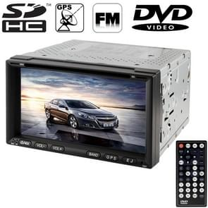 6 95 inch High Definition Digital TFT Display Touch Screen Car MP4 / DVD Player met afstandsbediening  ondersteuning GPS / Bluetooth / TV-systeem / USB / SD-kaart / Aux-in (ZY-6911)