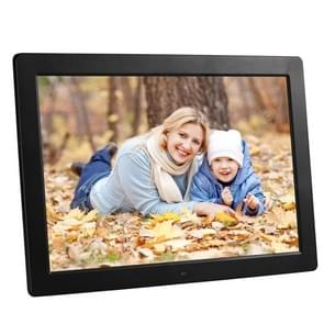 15 inch 1280 x 800 LED Digital Picture Frame with Holder & Remote Control Support SD / MMC / MP3 / MP4 / and USB(Black)