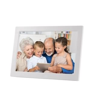 13 inch LED Digital Photo Frame met afstandsbediening  MP3 / MP4 / filmspeler  ondersteuning voor USB / SD Card ingang  gebouwd in Stereo Speaker(Silver)
