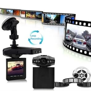 2.5 inch Screen High Definition Video Recorder, 6 LED Light, AVI Video Format, Support SD Card, Loop Recording Function (Generalplus Scheme)(Black)