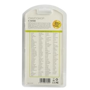 Chunghop Universal A/C Remote Control (K-9098E)(White)