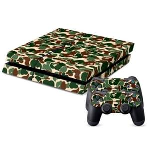 Camouflage patroon Stickers voor PS4 Game Console