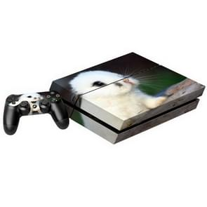 Cute Animal patroon Stickers voor PS4 Game Console