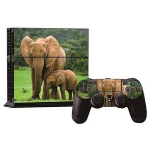 Olifant patroon Stickers voor PS4 Game Console